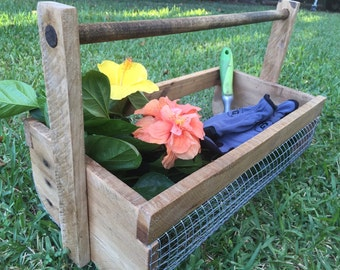 Wood & Wire Basket - Small