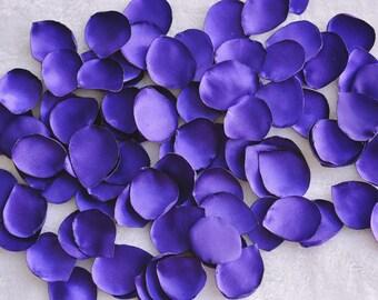Purple flower petals, 100 Wedding Flower Petals, Purple Wedding, Deco, Table Scatter, Basket Filler, Photo prop, Bridal, Red, Flower Girls