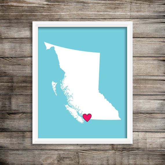 lower mainland vancouver bc canada home decor art print