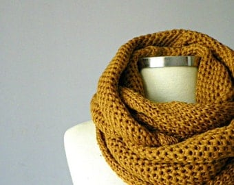 SALE, scarves, unisex, gift for man, knit scarf, Cowl Scarf, gift for her, winter fall women accessories, chunky infinity cowl