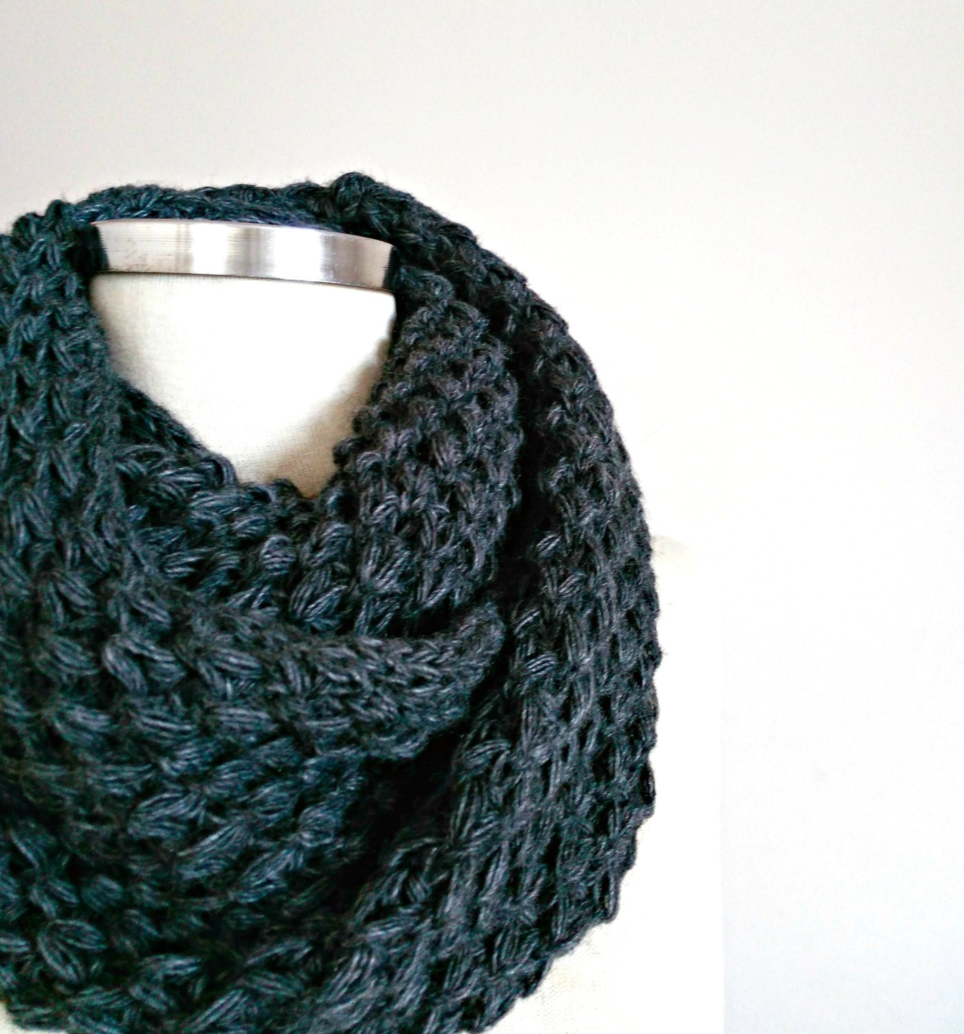 sale knit scarf knitted infinity scarf cowl loop