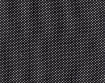 Dottie by Moda - Tiny Dots - Jet Black - 1/2 Yard Cotton Quilt Fabric 516