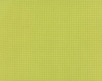 Flow by Brigitte Heitland for Zen Chic and Moda - Drops - Light Green - Apple - 1/2 Yard Cotton Quilt Fabric 516