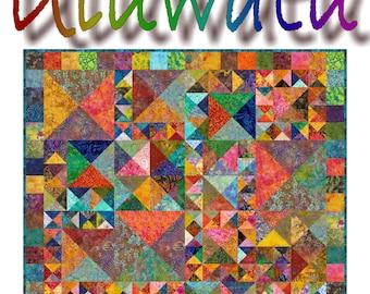 NEW - ULUWATU -  Quilt-Addicts Patchwork Quilt Pattern