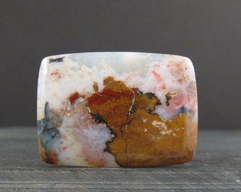 Rectangular agate cabochon, , Natural cabochon Jewelry making Supplies S6823