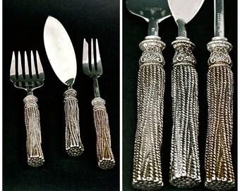 Vintage CHIRISTIAN LACROIX by Christofle Fish Serving Set