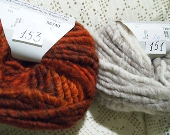 Katia Tikal super chunky yarn made in Spain - SALE only 4.99 USD instead of 9.50 USD