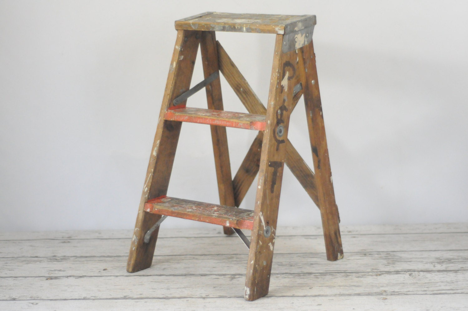 how to build step ladder wood