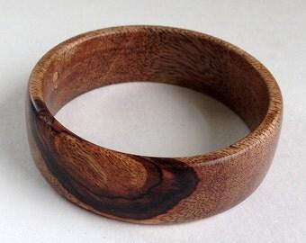 Tree Limb Mango Wood Bangle Bracelet