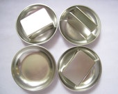 SALE Aluminum KENSINGTON Mid Century Ashtrays (4) with Match Box Holders (3).