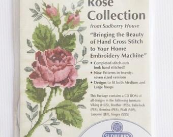 Rose Collection/ Sudberry House/ Machine Cross Stitch/ 3D Embroidery System/ 9 Designs/ Stillstunningvintage