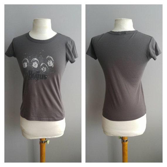 11b9c2d19ee9a Vintage Clothing Vintage T Shirt Beatles Band T Shirt Grey [AD126640 ...
