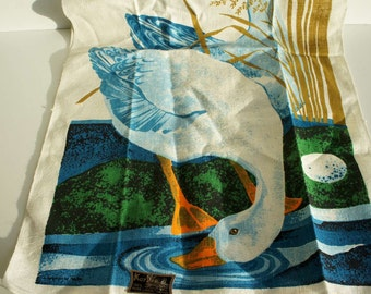 Vintage Linen Dish Towel by KayDee designed by Bob Goryl