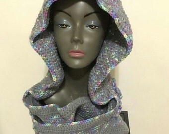 Personalized Hooded Scarf