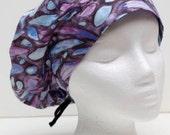 Ladies Surgical Scrub Hat - Cap - Bouffant