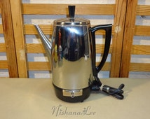 Popular items for electric percolator on Etsy