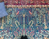 Antique Large Hand Knotted Persian American Sarouk Rug - FREE GLOBAL SHIPPING - 1910's