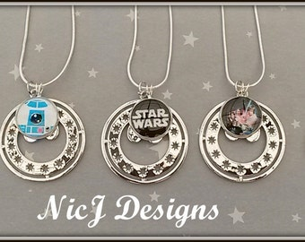 Star Wars Rebel Alliance Insignia Pendant and Charm