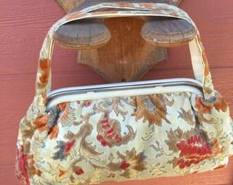 1950's Tapestry Bag