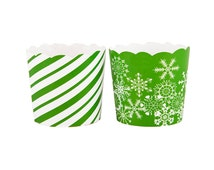 Holiday Set Green - Small Cups