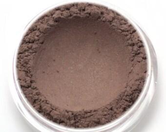 """Brown Shimmer Eyeshadow - """"Terra"""" - Vegan Mineral Eyeshadow / Eyeliner Net Wt 2g"""