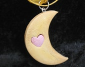 Crescent Moon Cookie Charm