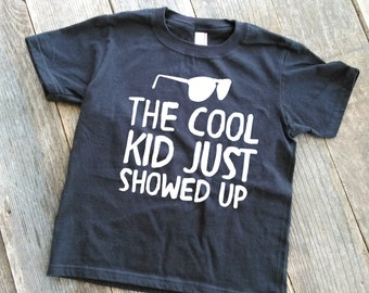 Cool Kid T-Shirt | The Cool Kid T-Shirt | Sunglass T-Shirt | Baby Tee | Baby T-shirt | Toddler T-Shirt | Children's T-shirt | Children's Tee