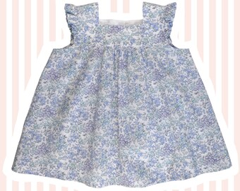 Girl's Liberty Print Blouse for Baby to 10 Years
