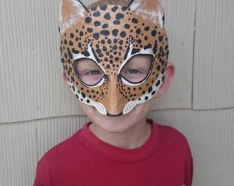 Jaguar mask, jaguar costume