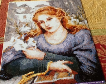 DMC - EXCLUSIVE - Convent Lily - Cross Stitch Pattern Only