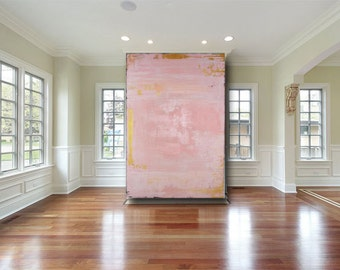 fine art painting abstract painting abstract art original painting large abstract painting pink painting custom modern art by cheryl wasilow