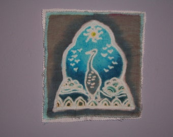 Crane Day Temple Patch