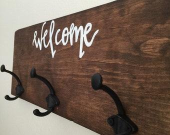 Welcome key holder
