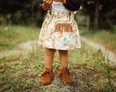 """Swanky Shank Girls """"Arizona's Pocket"""" Skirt, Girl's Pocket Skirt, Girl's Fringe Skirt, Baby Girl Skirt, Floral Skirt for Girls"""
