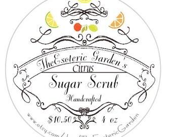 Citrus Sugar Scrub 4oz