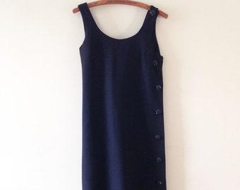 Women's Vintage Clothing / 1960's Black Sheath Dress