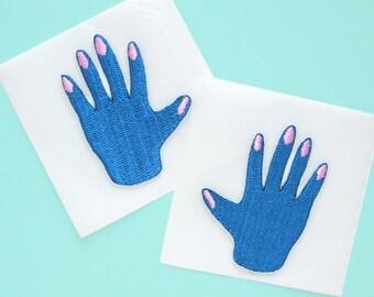 HAND MINI PATCH - blue