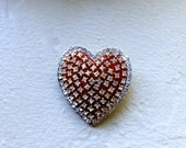 Valentines Day Rhinestone Pin