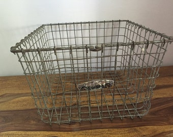 Vintage Metal Wire Gym Locker No. 2678 American Playground Device