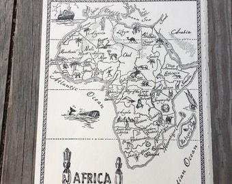 Alexandria Map Art Vintage Map Of Alexandria Egypt Old Map - Vintage map of egypt