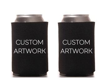 Custom Can Beverage Cooler Artwork Digital File Printable