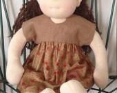 Waldorf Doll Dress and Panties 18-20 inch