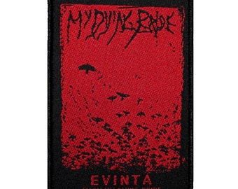 "Band ""My Dying Bride: Evinta"" Doom Metal Album Cover Art Sew On Applique Patch"