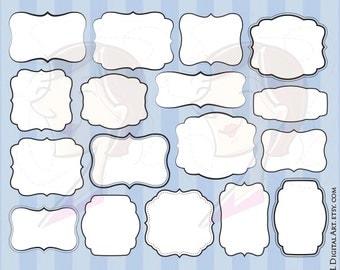 Commercial Use Clipart Popular Items VECTOR Graphics Digital Basic Frames Download Clip Art Teacher DIY Invitations Cardmaking 10463