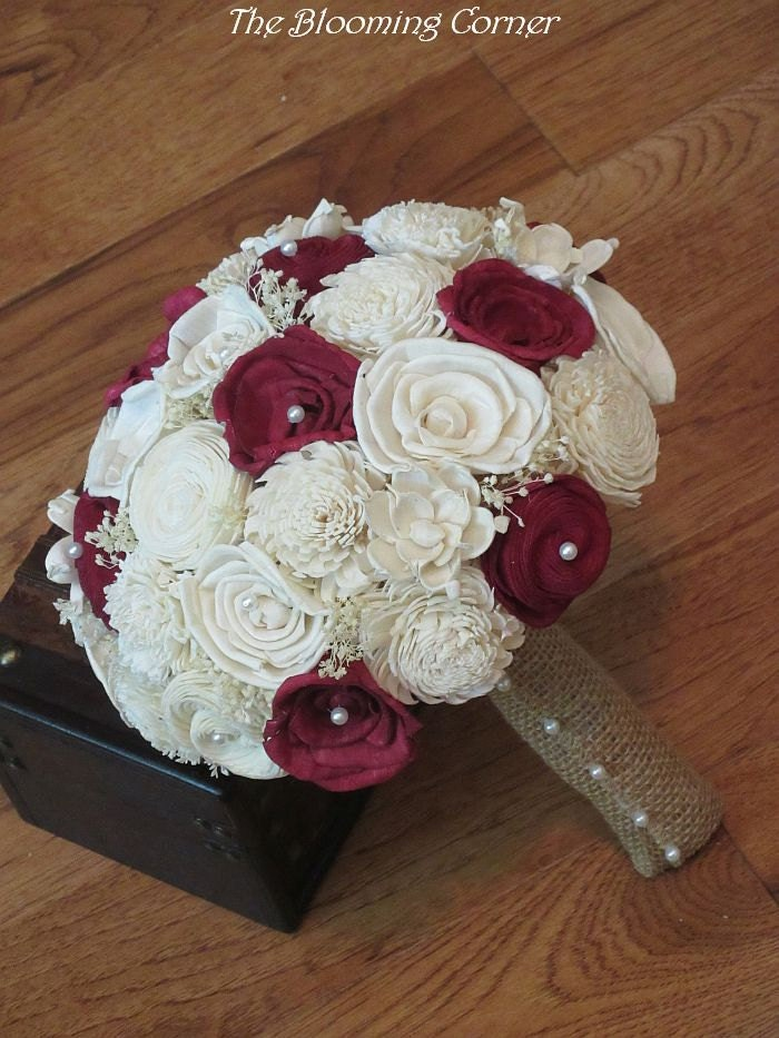 wooden flowers wedding bouquets wedding bouquet sola bouquet wood bouquet bridal 1486