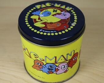 Vintage Pac Man Tin - 1980.
