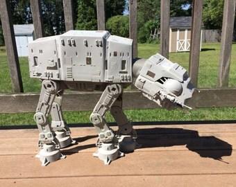 Vintage Star Wars At-At Walker - Works! - 100% Complete - 1981