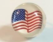 American Flag Ring - American Flag - Flag Ring - USA Ring - American Flag Jewelry