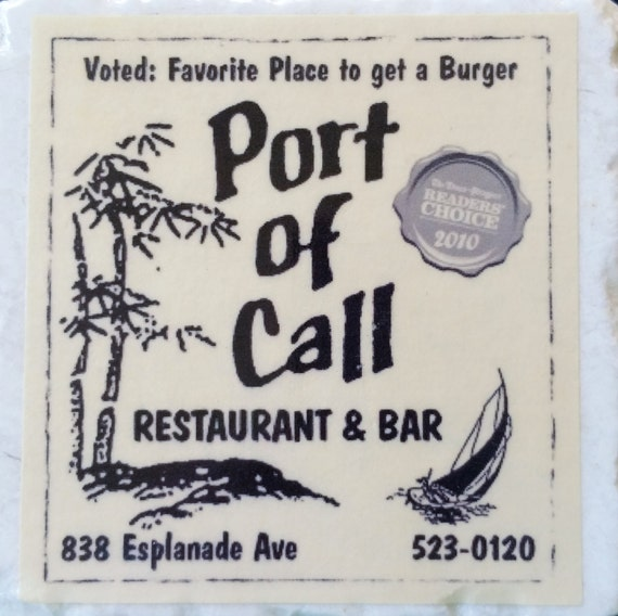 Port of Call New Orleans Coaster