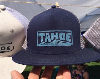 TAHOE stamped trucker hat